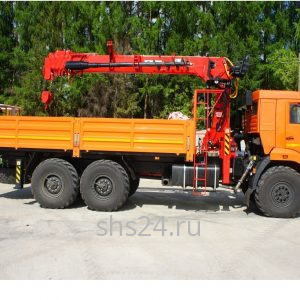 БКМ на базе Камаз 43118 c Hanglil HGC986