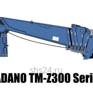 Кран-манипулятор (КМУ) Tadano TM-Z300,TM-ZF300, TM-ZR300 Series