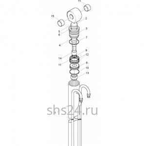 Гидроцилиндр выдвижения задней опоры Kanglim KS 1256 GII