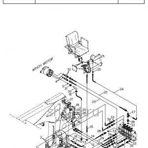 Гидролиния верхняя часть (верхнее упр.)