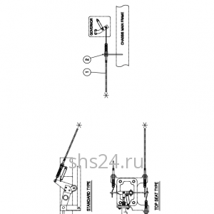 Педаль газа (акселератора) Kanglim KS 1256 GII