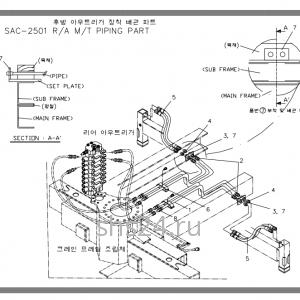 Схема подключения аутригеров-Soosan-SAC-25-01