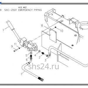 Схема подключения дивертера Soosan SAC 2501