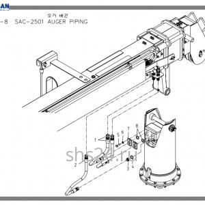 Схема подключения вращателя Soosan SAC 2501