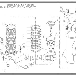Станина(база) Soosan SCS 746L STD