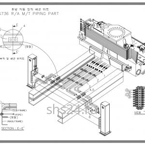 Подключение задних аутригеров Soosan SCS 736