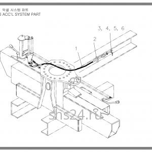 Система подачи газа Soosan SCS 736