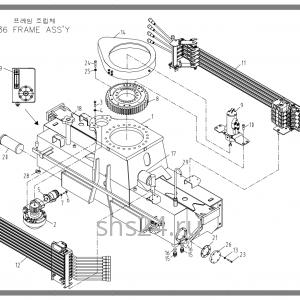 Станина(база) Soosan SCS 736 STD
