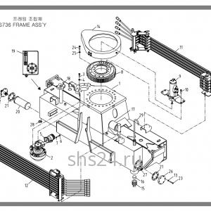 Станина (база) Soosan SCS 736L2 STD