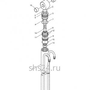 Гидроцилиндр выдвижения задней опоры Kanglim KS 2056