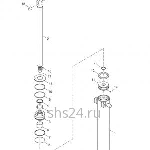 Гидроцилиндры подъема стрелы Kanglim KS 2056, 2057