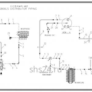 Схема подключения Soosan SCS 866, 867