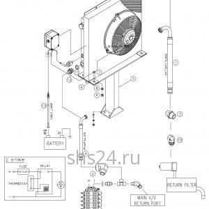 Система охлаждения Dong Yang SS 1406