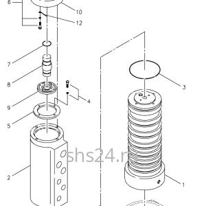 Вращающееся соединение (Гидроколлектор) Kanglim KS 3105