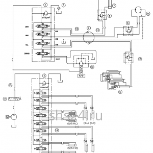 Гидравлическая схема потока(контур) DongYang 1506