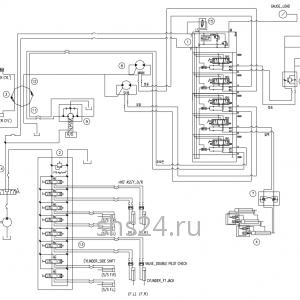 Гидравлическая схема потока(контур) DongYang 2036