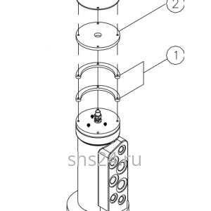 Гидроколлектор(Вращающееся соединение) DongYang 2036