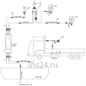 Схема электропроводки DongYang 2036