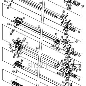 Стрела в сборе (6 секций) DongYang 1926