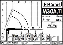 КМУ Fassi M30A.11