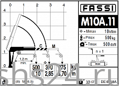 КМУ Fassi M10A.11