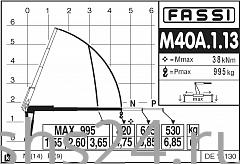 КМУ Fassi M40A.1.13