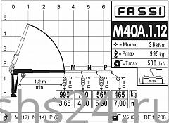 КМУ Fassi M40A.1.12