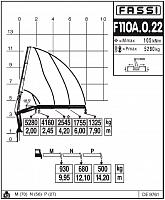 КМУ Fassi F110A.0.22