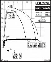 КМУ Fassi F110B.0.24 L061