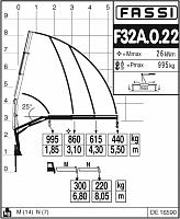 КМУ Fassi F32A.0.22