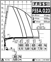 КМУ Fassi F55A.0.23