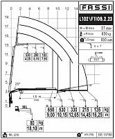 КМУ Fassi F110B.2.23 L102