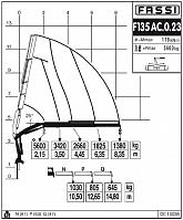 КМУ Fassi F135AC.0.23