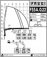 КМУ Fassi F55A.0.22