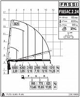 КМУ Fassi F185AС.2.24