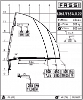 КМУ Fassi F65A.0.22 L061