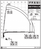 КМУ Fassi F125A.2.24 L102