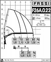 КМУ Fassi F26A.0.22