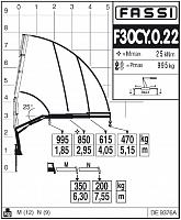 КМУ Fassi F30CY.0.22