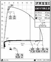КМУ Fassi F110B.2.25 L061