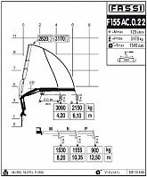 КМУ Fassi F155AC.0.22