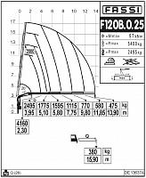КМУ Fassi F120B.0.25