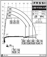 КМУ Fassi F125A.2.23 L102