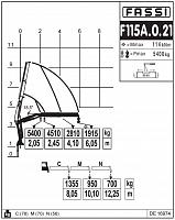 КМУ Fassi F115A.0.21