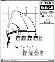 КМУ Fassi F165A.0.21