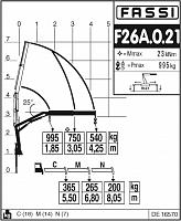 КМУ Fassi F26A.0.21