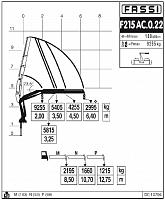 КМУ Fassi F215AС.0.22