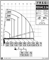 КМУ Fassi F255AС.2.26