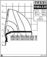 КМУ Fassi F245A.0.22