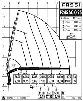 КМУ Fassi F245AС.0.25